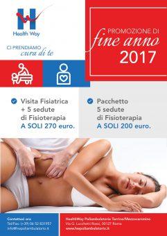Promozione di fine anno 2017 da Health Way